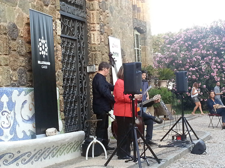 Música en las noches Gaudí en Bellesguard