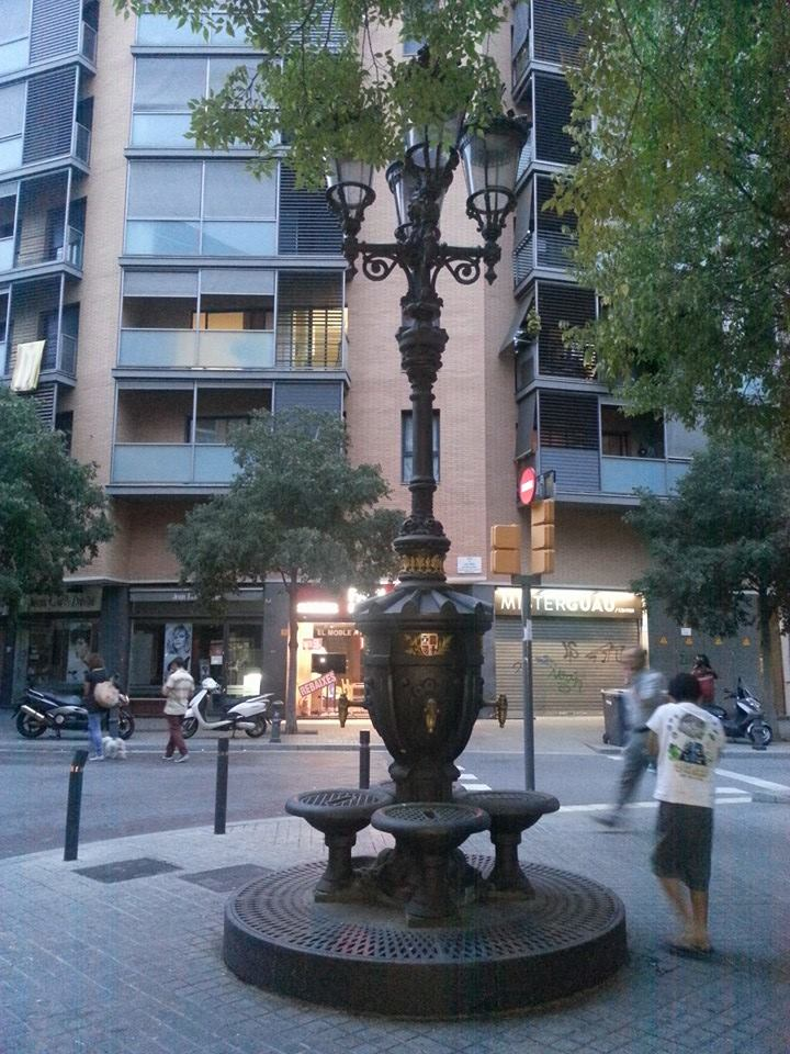 fuente Canaletas Barcelona (hermana)