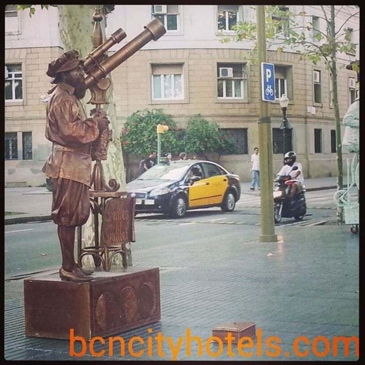 Las Ramblas de Barcelona con niños
