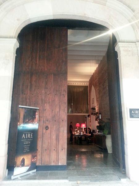 SPA Barcelona: Aire