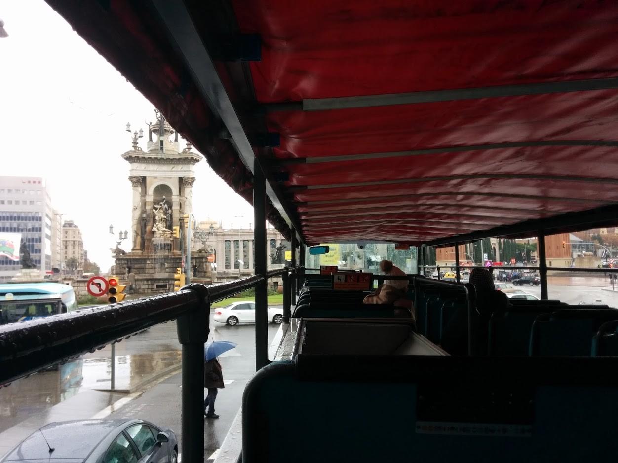 Paseo lluvia Bus Turístic