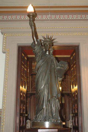¿La estatua de la Libertad en Barcelona?