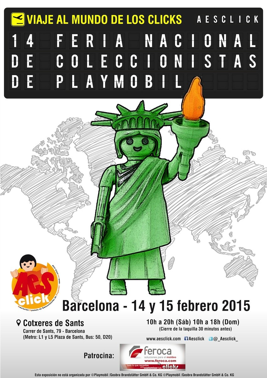 Feria Playmobil Barcelona 2015