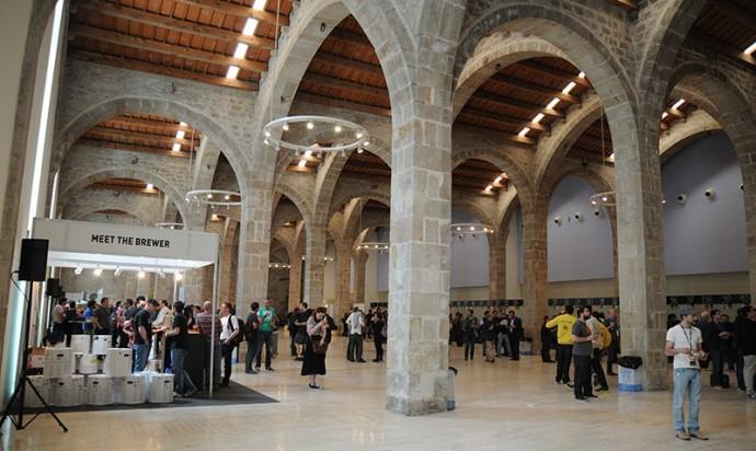 Actualmente, el Barcelona Beer Festival tiene lugar en Drassanes