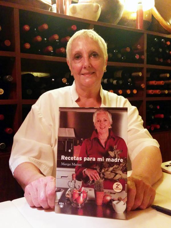 Marga Muñoz, cocinera y escritora