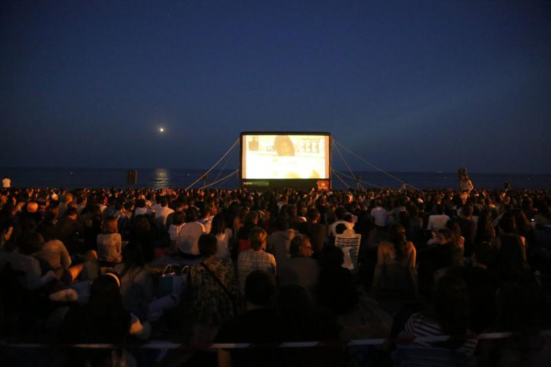Resultado de imagen de cinema en la platja del prat