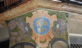 mosaico Modernista Carrer Carme