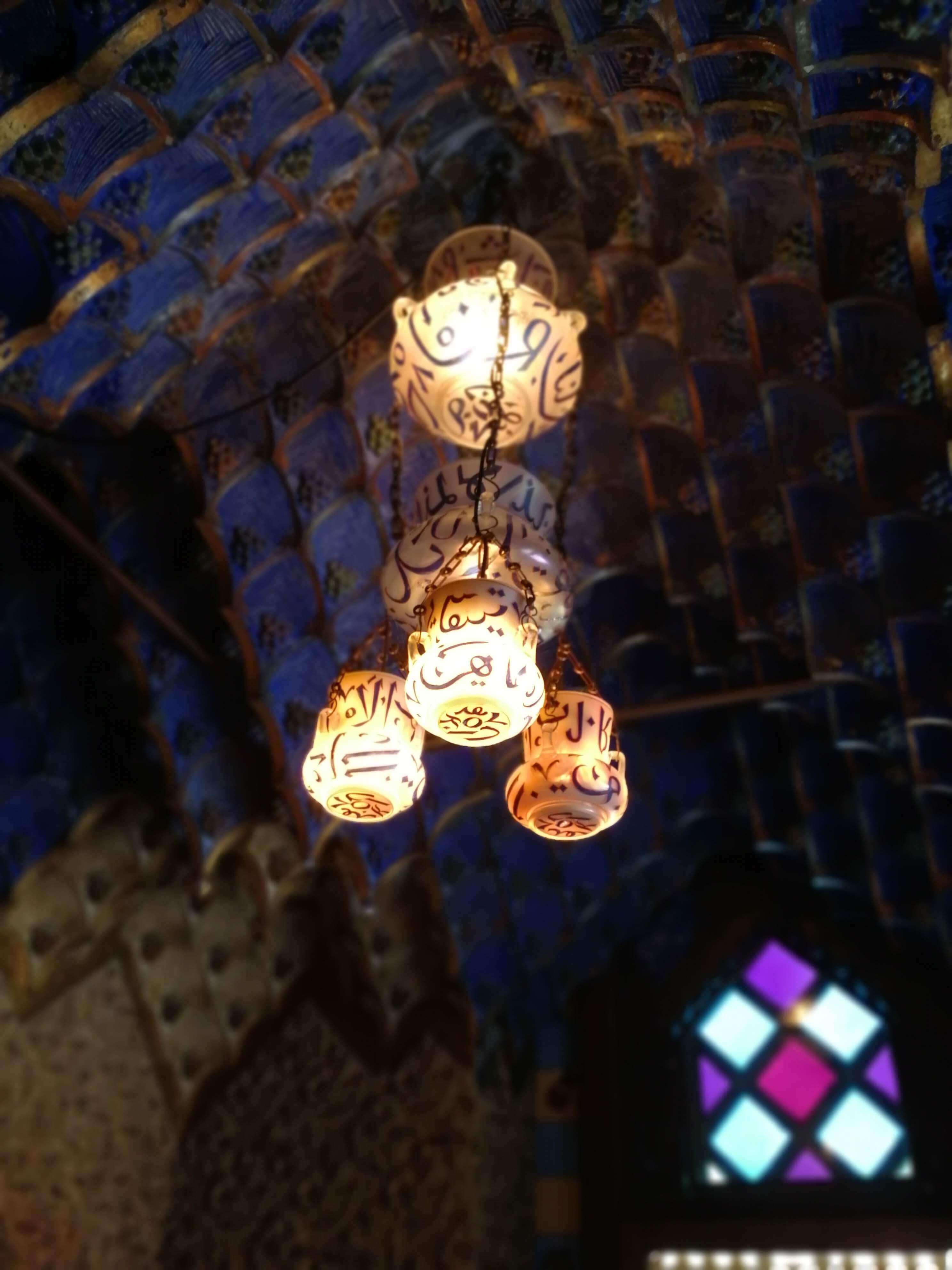 lámpara en Casa Vicens