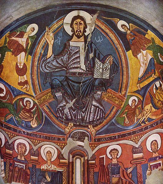 the amazing original Pantocrator from Sant Climent de Taüll is one of the works that attracts glances.