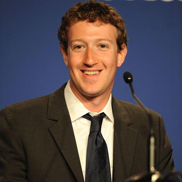 Mark Zuckerberg, creador de Facebook,