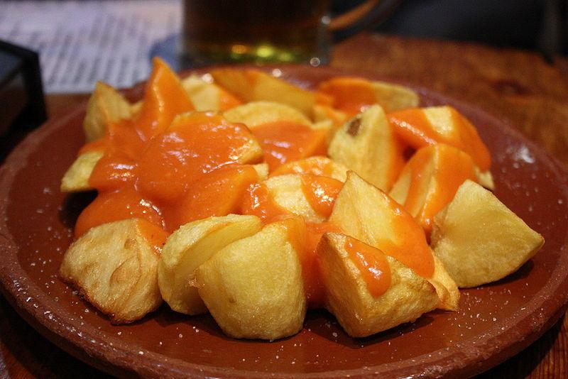 Patatas bravas, a classic in Barcelona