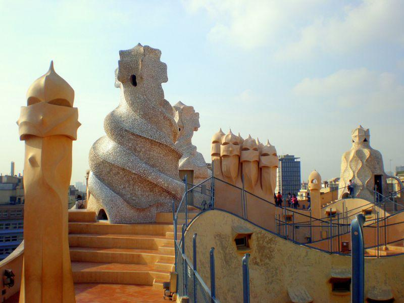 top 10 things to do in barcelona: Visitar la Pedrera