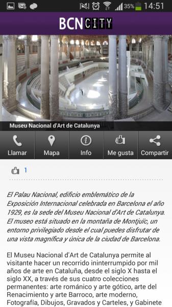 Barcelona City App