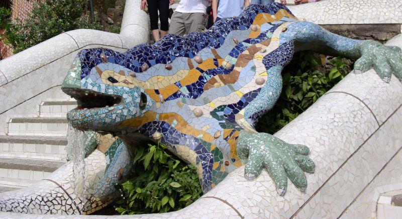 Dragón del Park Güell
