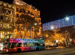 El Barcelona Night Tour estrena una ruta navideña