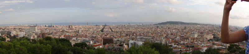 miradores Barcelona: Park Güell