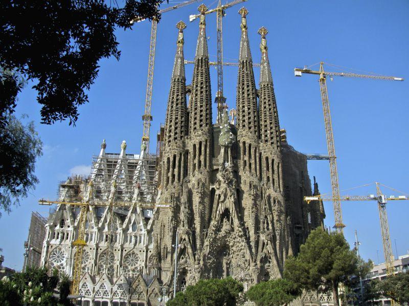Top 10 cosas que hacer en Barcelona: Visitar la Sagrada Familia